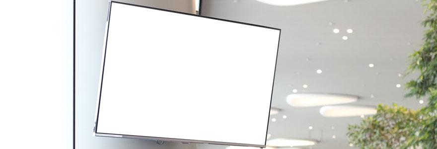 écran publicitaire